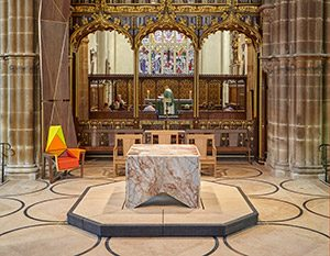 King Richard's final resting place at Leicester Cathedral