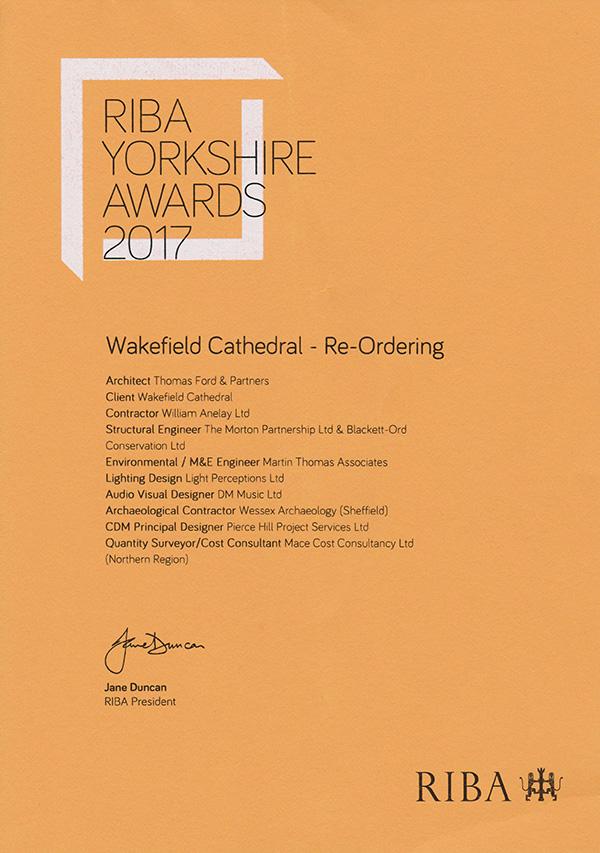 Wakefield RIBA Award