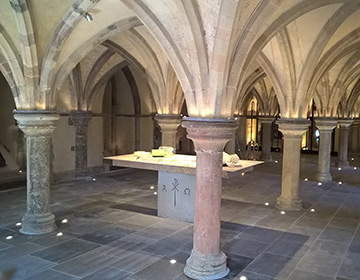 Crypt at Rochester Cathedral