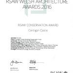 Cardigan-Castle-RSAW-Conservation-Award-2016