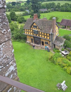 Stokesay Castle in Shropshire