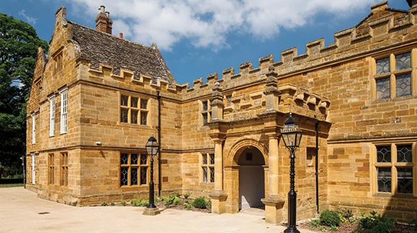 Entrance to Delapre Abbey-RICS Winner