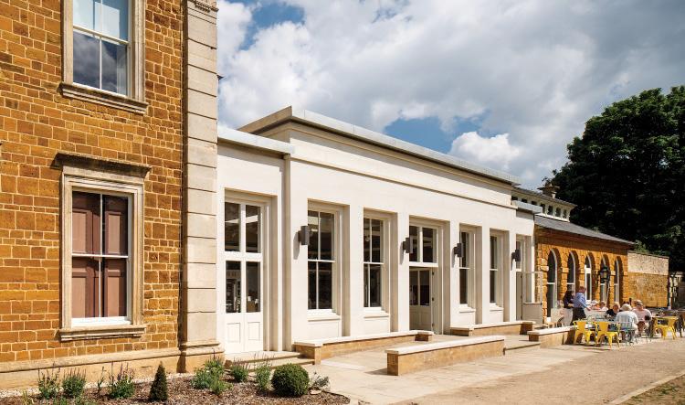 Exterior of Delapre Abbey-RICS Winner