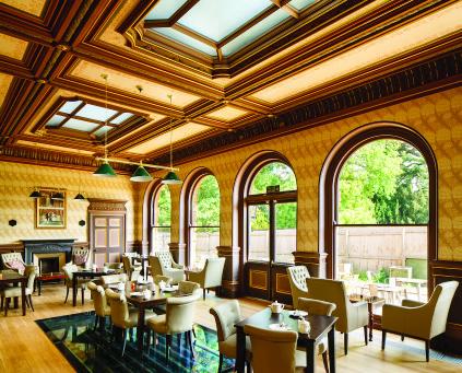 Interior of Delapre Abbey-RICS Winner