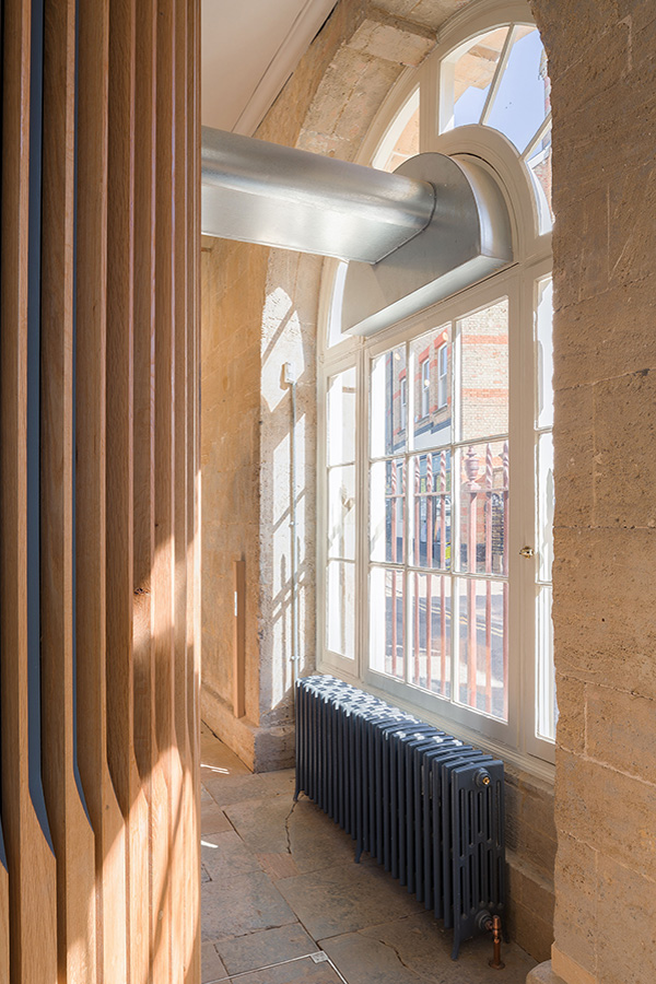 Historic Building Mechanical & Electrical Engineering Design by Martin Thomas Associates at Brackley Town Hall
