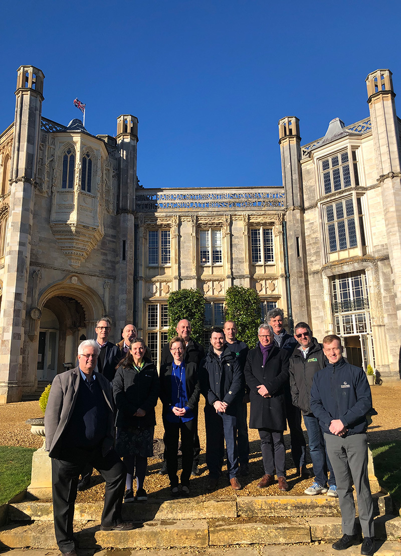 Martin Thomas Associates Building Services Consultancy on Highcliffe Castle Restoration Project