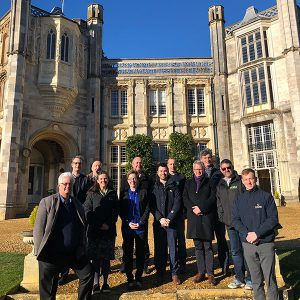 Martin Thomas Associates help on Highcliffe Castle Restoration Project