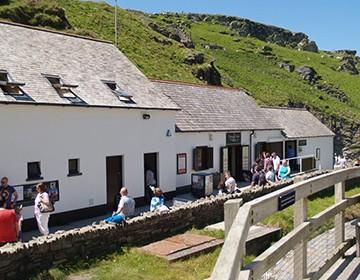 Tintagel Castle visitor facilities